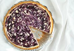 White Chocolate Blueberry Cheesecake - uses a pre-made graham cracker crust, and can be frozen. Gorgeous.