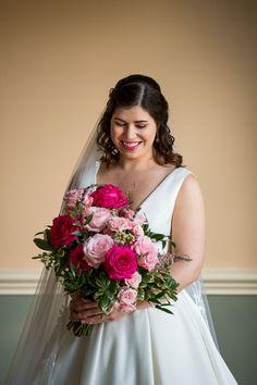 Orange Blossom Bride | Orlando Wedding Blog #orlandowedding #leugardens #pinkwedding Wedding Film, Rose Wedding, Wedding Ceremony, Gorgeous Wedding Dress, Beautiful Bride, Orlando Wedding, Bride Look, Wedding Hair And Makeup, Bridal Bouquets