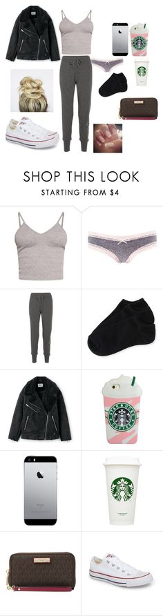"""""""Weekend"""" by reka15 on Polyvore featuring BasicGrey, Charlotte Russe, Calvin Klein Collection, Aéropostale, Michael Kors and Converse"""