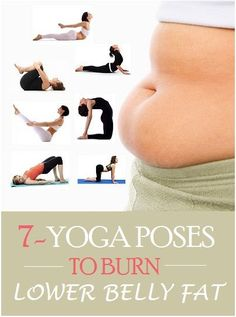 Top 7 Yoga Poses To Burn Lower Belly Fat | Crazy And Easy Top 7 Yoga Poses To…