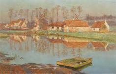 Emile Claus (Belgian 1849-1924)
