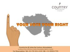 Your One #Vote can Change the #Nation. #Vote for #Gujarat