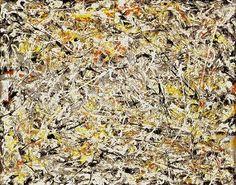 Jackson Pollock | White Light 1954