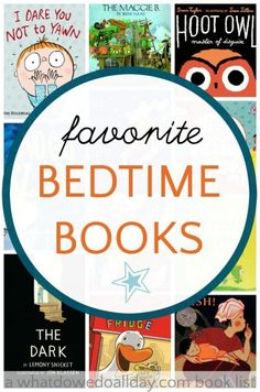 Bedtime books and bedtime stories for kids.