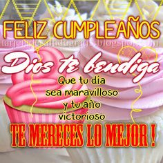 Happy Birthday Messages, Birthday Wishes, Birthday Cards, Happy B Day Images, Fathers Day, Birthdays, Neon Signs, Spanish, Snoopy