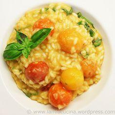 Bunter Tomaten-Risotto
