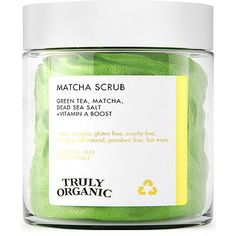 If you're looking for a natural way to clear and even out your complexion, look no further! The Matcha Face Scrub by Truly controls oil, exfoliates, deeply purifies and helps clear impurities. Sugar Scrub Diy, Diy Scrub, Beauty Care, Beauty Skin, Beauty Hacks, Beauty Tips, Beauty Products, Bite Beauty, Face Products