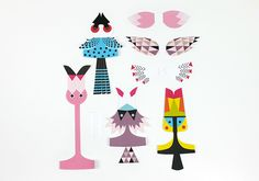 Gelatina de Plata: Mr Printables: web with ideas to play for the little people