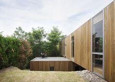 Casa de madera en voladizo – Planos de Casas Gratis