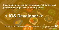 A sought after #IOS #WebDeveloper in #Barcelona:  http://www.approachpeople.com/international/job-description/?id_job=14144 #jobfairy #jobs #technology #mobile