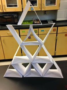 Another GREAT Tower Building STEM task! Can you build a tower using only two supplies?notecards and tape