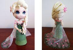"""Biscuit: Elsa do """"Frozen - Febre Congelante"""""""