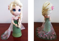 "Biscuit: Elsa do ""Frozen - Febre Congelante"""
