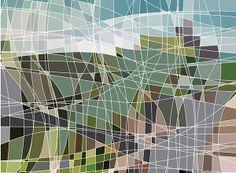 British Landscapes by Chris Day, via Behance