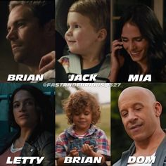 Fast And Furious Actors, The Furious, Brian Oconner, Dom And Letty, Dominic Toretto, Vin Diesel, Fun, House Characters, Instagram