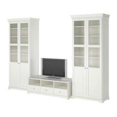 LIATORP Mobile TV, combinazione IKEA