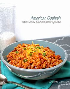 Busy Weeknight American Goulash with Turkey & Whole Wheat Pasta