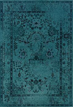 Revival Turquoise Rug