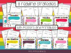 taking sticky notes into the next level of analysis and creating something from students notes-- Visual Plans and Sticky Note Reading Strategies!