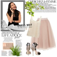 Designer Clothes, Shoes & Bags for Women Today Show, Ballet Skirt, Skirts, Polyvore, Stuff To Buy, Shopping, Collection, Dresses, Design