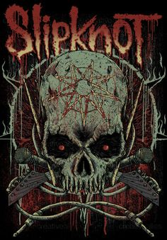 Slipknot Merchandise Graphic by Trockz on CreativeAllies.com