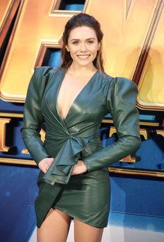 Elizabeth Olsen attends Avengers: Infinity War fan screening in London, UK - April 2018 Elizebeth Olsen, Elizabeth Olsen Scarlet Witch, Actrices Hollywood, Marvel Women, Mode Outfits, Avengers, Celebs, Female Celebrities, Actresses