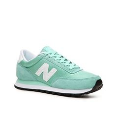New Balance 501 Retro Sneaker in Mint Green/White at DSW