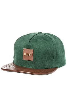 The Metal Original Logo Snapback in Forest by HUF