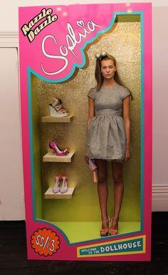 Sophia Webster Spring 2013 Barbie Doll Presentation