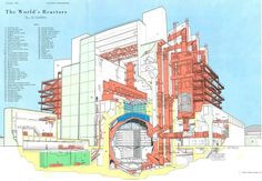 These Nuclear Reactor Drawings Will Melt Your Brain - Architizer