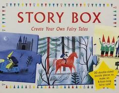 Story Box: Create Your Own Fairy Tales Magma for Laurence King, by Anne Laval (ill. Create Your Story, Create Your Own, Create Yourself, Pink Rabbit, Literary Gifts, Reading Stories, Reading Time, Big Bad Wolf, Laurence
