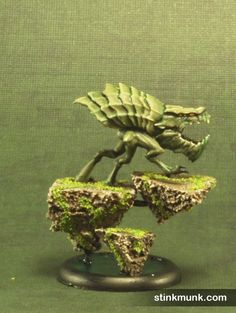 Void Wretch, Nightmare Edition, 2 of 3. Model by Wyrd Miniatures, painted by Stinkmunk (October 2013). #Malifaux