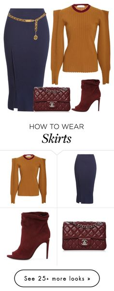 """""""Chic and sexy"""" by ellenfischerbeauty on Polyvore featuring Victoria Beckham, Chanel and Burberry"""