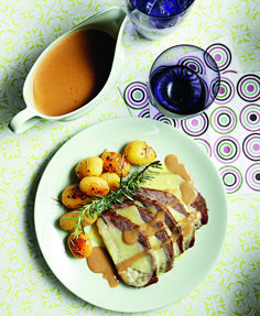 www.gr wp-content uploads 2014 03 mosxaraki-noua-me-patatakia. Greek Recipes, Wine Recipes, Weird Food, Lamb, Waffles, Recipies, Food Porn, Pork, Food And Drink