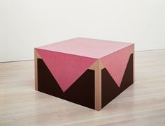 Richard Artschwager  American, born 1923-20013, Table with Pink Tablecloth, 1963