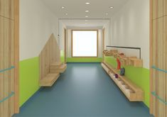 Interior design for kindergarten