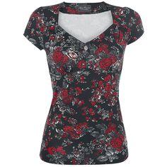 Vive Maria T-skjorte -American Rose- -- Kjøp nå hos EMP -- Mer Rockabilly T-skjorter tilgjengelig online - Uslagbare priser!