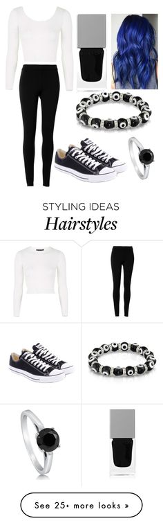 """""""Blue hair"""" by alysiana on Polyvore featuring Bling Jewelry, Max Studio, Givenchy, BERRICLE, Converse and Topshop"""