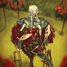 Benjamin Lacombe, Alice in Wonderland