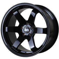 BOLA B1 6-SPOKE CONCAVE STAGGERED alloy wheels with stunning look in JAP STYLE for 5 stud alloy wheel fitment. 9.5J BOLA B1 alloy wheels in GLOSS BLACK finish are great match for most of jap imports and euro looking cars with 18 inch wheel size and 35 45 offset.