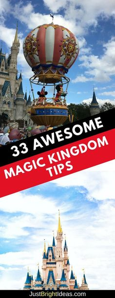 Disney World Tips | Don't leave for your Disney World vacation without checking out these Magic Kingdom Tips! #disneyworld