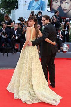 Dani Del La Torre with Goya Toledo Dress, ELLIE SAAB