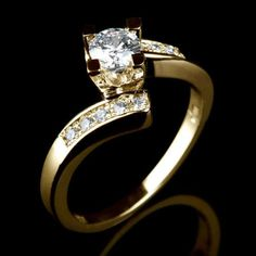 0-7-CT-CERTIFIED-ROUND-CUT-ACCENTED-DIAMOND-14K-YELLOW-GOLD-ENGAGEMENT-RING-NEW 151729761675