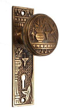 Incredible Door Hinge from the McDonald Mansion, Santa Rosa, CA ...