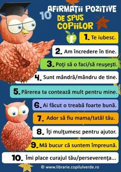 De spus copiilor Baby Journal, Teacher Supplies, Emotional Intelligence, Kids Education, Classroom Management, Toddler Activities, My Children, Kids And Parenting, Personal Development