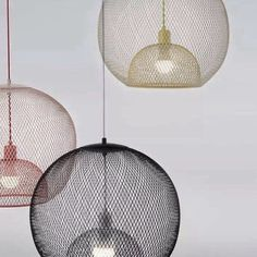 Light Cage two layers of expanded metal new for Chinese brand zao zuo via notedesignstudio- designer, metal, lighting