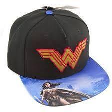 f08ca8791a95c DC Comics Batman V Superman Dawn of Justice Wonder Woman Snapback Hat for  sale online