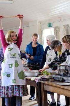 As Lucy Worsley Celebrates Women's Institute's Birthday, We Find 10 Facts That Just Might Surprise You About UK's Largest Women's Group Dr Lucy Worsley, Womens Institute, Make Do And Mend, Large Women, Historian, Rule Britannia, Craft Club, Jerusalem, 21st Century