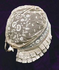 Bonnet de dentelle  Adresse : Collection particulière, Herblay, France  DatationXIXe siècle - XXe siècle #Paris
