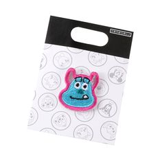 [Official] Disney Store | pin badge Sally graffiti embroidery: | Disney Goods Gift of official mail order site Disneystore